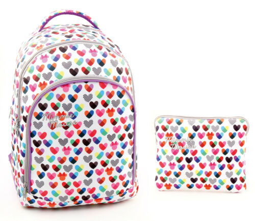 Minnie Mouse grand sac à dos sac à dos voyage Mesdames Housse Pour Ipad Cas Tablette