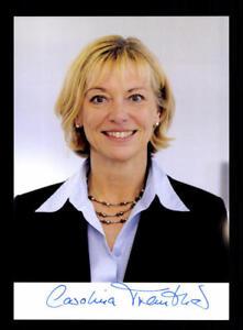 Politik Carolina Trautner Autogrammkarte Original Signiert ## Bc 114429 Farben Sind AuffäLlig