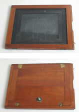16.5X13 WOODEN FILM HOLDER WITH 8X10 AND 9X11 INSERT