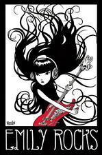 Emily The Strange: Emily Rocks-Maxi Poster 61cm X 91,5 Cm (nuevo Y Sellado)