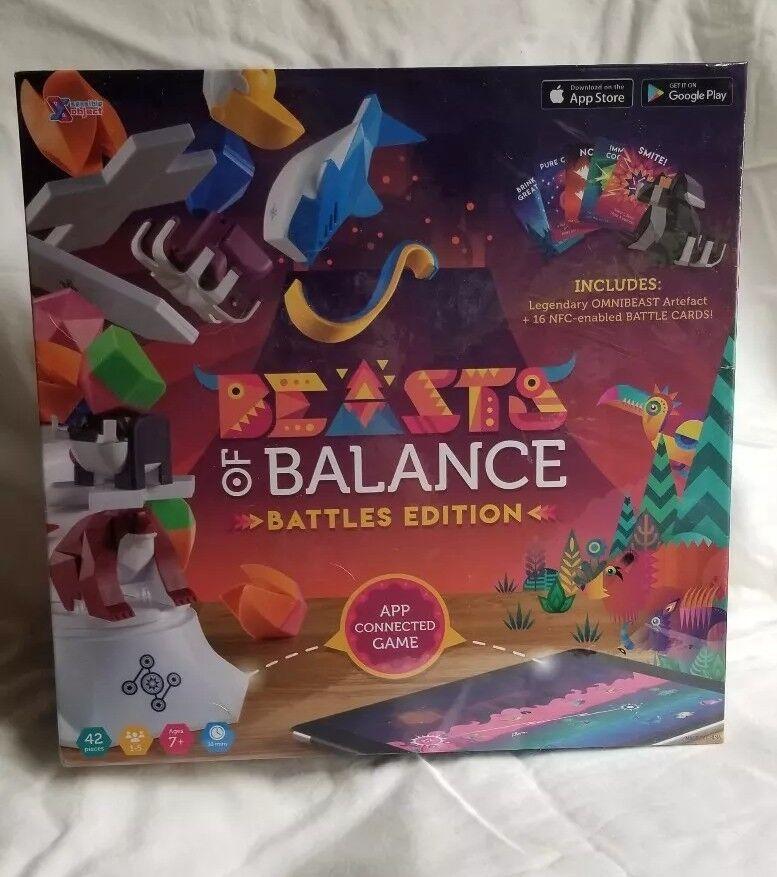 Bestias del equilibrio digital de apilamiento juego batalla Edition con la legendaria Bestia Omni