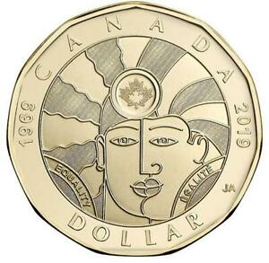 2019 Canada Equality 1 Dollar Coin Loonie Bu From Roll Limited Release Ebay