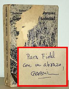Gabriel-Garcia-Marquez-SIGNED-Cien-Anos-de-Soledad-100-Years-of-Solitude-1st