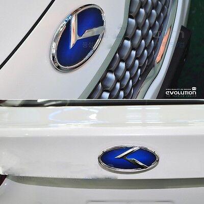 [Kspeed] (Fits: KIA 2011 2012 Sorento R) Blue K logo Rear emblem