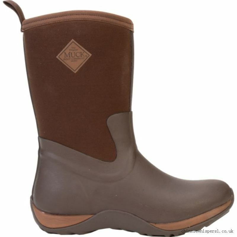 NEW Muck Chocolate Brown Arctic Weekend Womens Casual Snow Winter Boots Mud