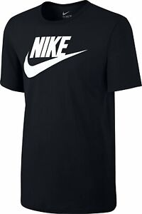 Nike-Mens-Icon-Futura-Gym-Sports-Cotton-Tee-T-Shirt-Top-Swoosh-Size-S-M-L-XL