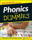 Phonics For Dummies by Susan M. Greve (Paperback, 2007)