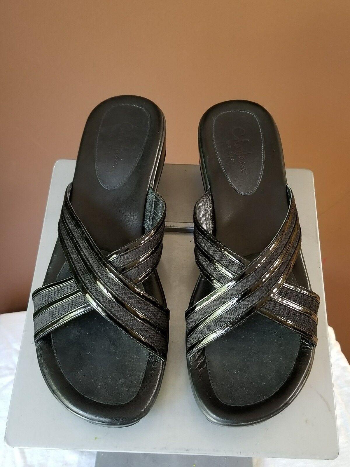 Cole HaanNikeAir  schwarz Sandale, Sz 8B