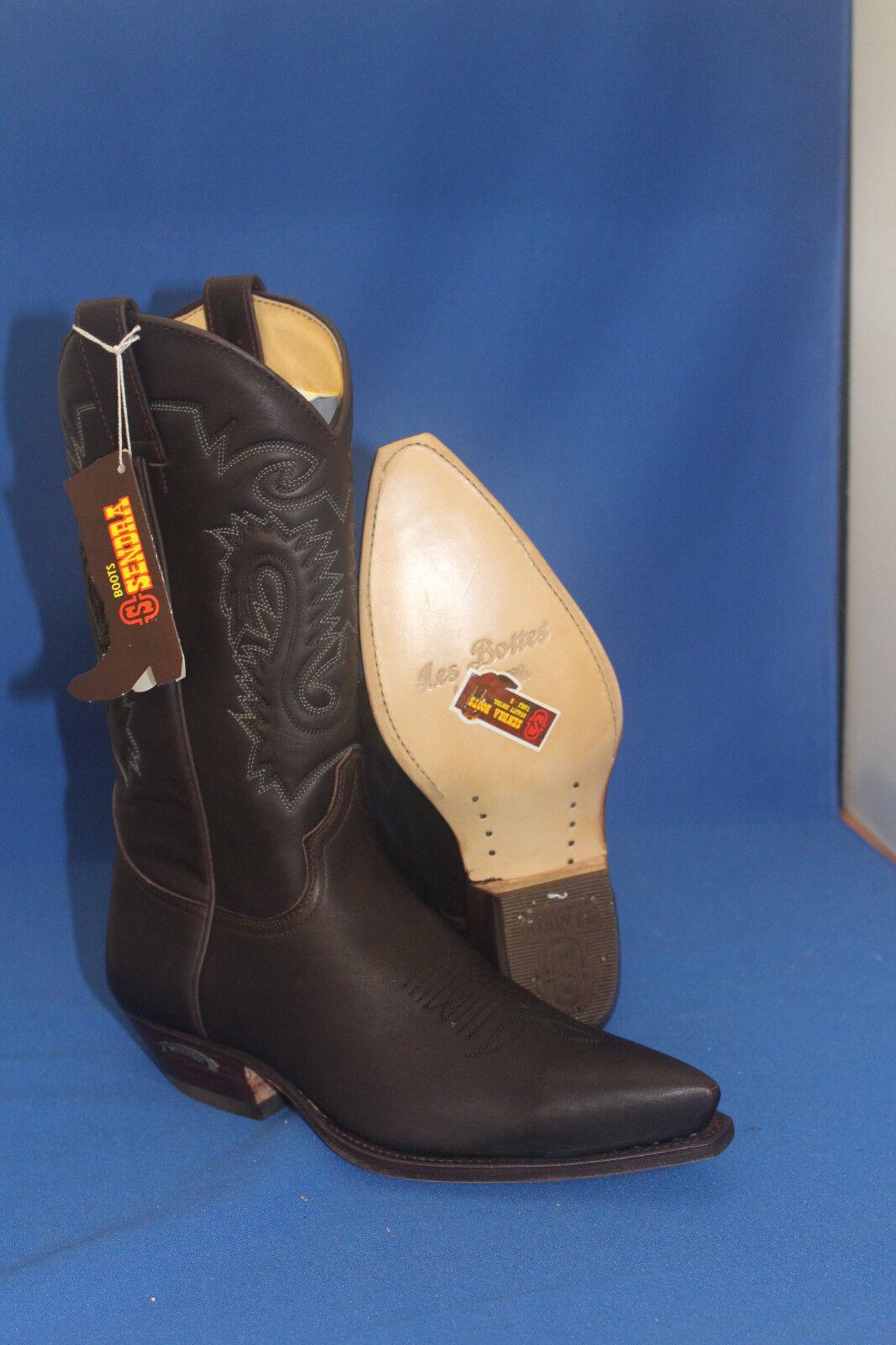 Sendra Stiefel cowboystiefel westernstiefel neu handmade braun cowboyStiefel    gr. 41 fea55c