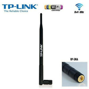 Antenna-WiFi-Wireless-8dB-attacco-RP-SMA-maschio-Tplink-TL-ANT2408CL-TP-Link