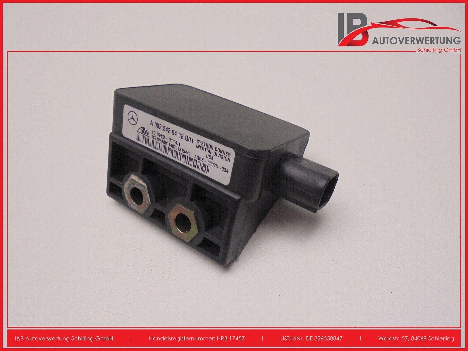 Mercedes W163 W203 ESP Sensor A0035422318 Drehratensensor 12 Monate Garantie