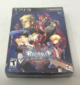 Details about BlazBlue: Continuum Shift Extend Limited Edition PS3  PlayStation 3 - NEW -