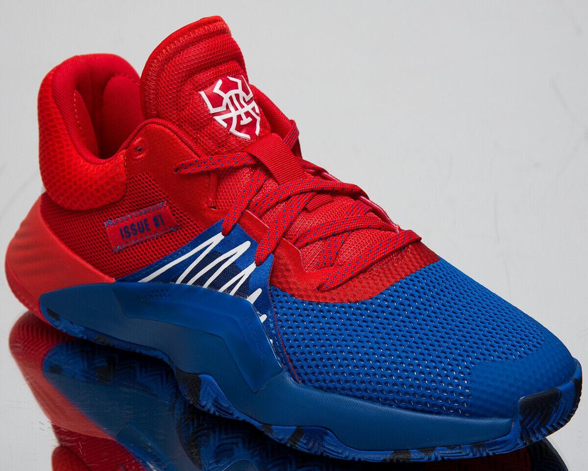 Adidas X Marvel D. O. N. Issue 1 Spider-Man Herren Blau Basketball Turnschuhe