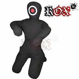 Grappling Dummy by ROX Fit Punch Bag Man Shape BJJ MMA Kneeling Fighting 150cm