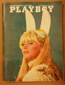 Playboy-November-1966-Very-Good-Condition-Free-Shipping-USA