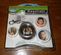 Digital Photo Frame Keychain Plays Slide Shows 1.5 Lcd Color Monitor
