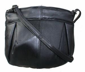Leder-Umhaengetasche-Schultertasche-Damentasche-Butterweiches-Leder-Tasche
