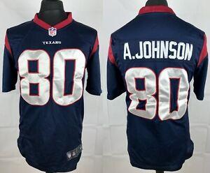 Andre Johnson #80 Houston Texans NIKE On Field NFL Jersey Men's ...