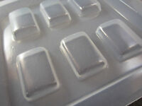 Resin Mold Rectangles 40 X 27mm Pendant Earring Epoxy Jewelry Rectangle Molds