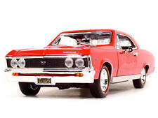 1967 CHEVROLET CHEVELLE SS 396 RED 1:18 DIECAST MODEL CAR BY MOTORMAX 73104