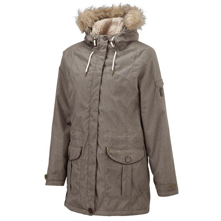Craghoppers Damen Winter Kurzmantel Mantel   wind- wasserdicht sherpaflec