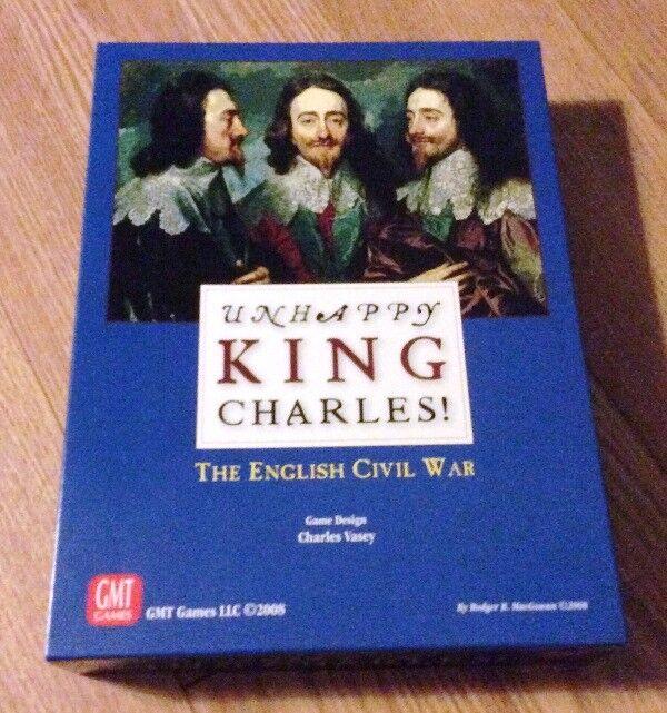 GMT GMT GMT Unhappy King Charles  The English Civil War; Bonus  lots of extra aids 747afa