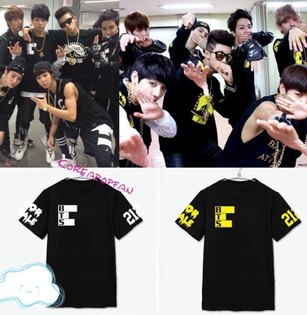 BTS T-shirt Bangtan Boys unisex tour t-shirt tee Kpop New