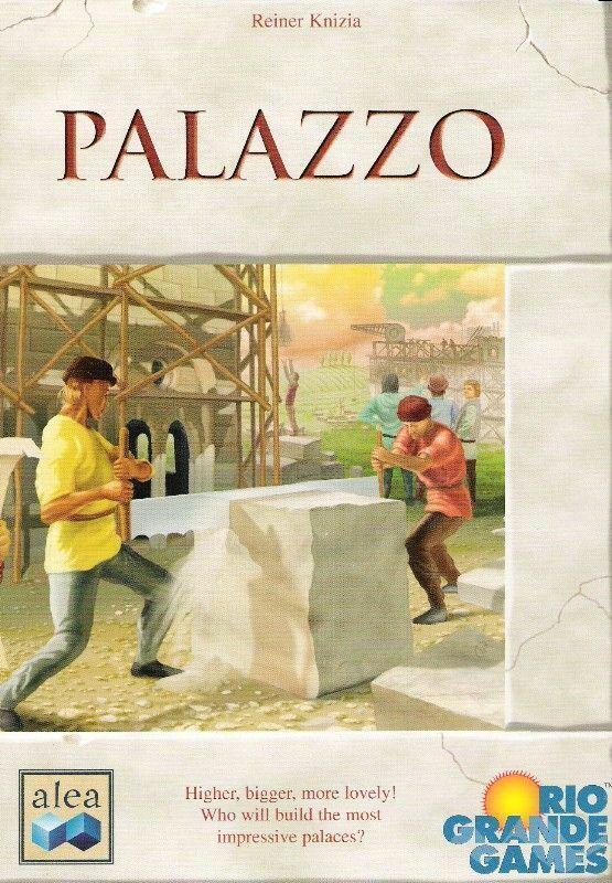 Palazzo Board Game - Brand New & Sealed (Rare)