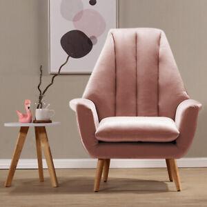 Sofa Armchair Living Room Velvet Padded