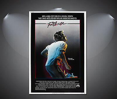 Footloose Vintage Movie Poster - A1, A2, A3, A4 Sizes