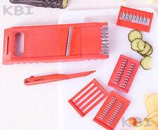7pcs Fruit Vegetable Spiral Slicer Chopper Potato Cutter Peeler Kitchen Tool Set