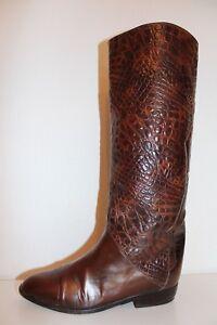 Boots Stiefel Studio Vtg K 80er Slouch Echtleder True 37 Vintage Leather amp;s 80s A8nPx4Rwq