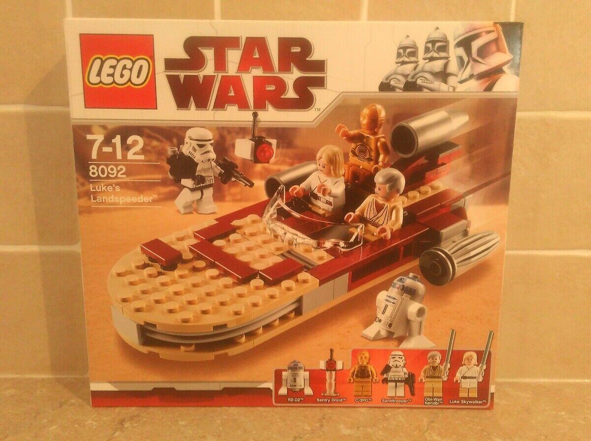 LEGO Star Wars - Luke's Landspeeder ( 8092) 8092) 8092) Luke Skywalker Ben Kenobi NEW e72425