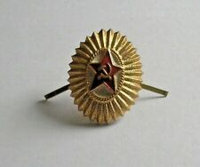 Soviet DOSAAF Expert Car Driver Civilian Assistance to Red Army Badge Pin Red