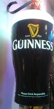 (L@@K) GUINNESS GIANT MOTION MOVING SPINNING LIGHT UP GLASS OF BEER SIGN RARE