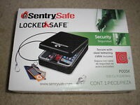 Sentry Safe Locked & Safe P005k Secure With Steel Tethering Cable Included