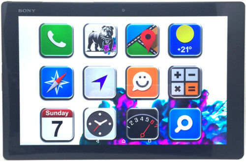 Sony Xperia Tablet Z2 Black/Schwarz 16GB 4G LTE & Wi-Fi Tablet SGP521 (N76828)