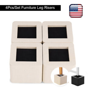 Image Is Loading 4pcs Adjule Heavy Duty Furniture Risers Sofa Bed