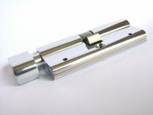90 mm serrure de porte Thumbturn Cylinder Euro Profil De Sécurité uvpc 5 Clés Anti Perceuse