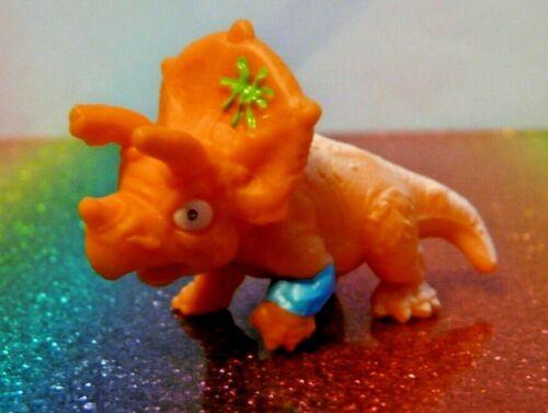 Zuru Smashers Series 4 TUNDRA TRICERATOPS Orange Mini Figure