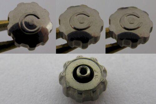 9 prongs diameter 4.9 mm tap 10 NEW Cyma Genuine crown in stainless steel