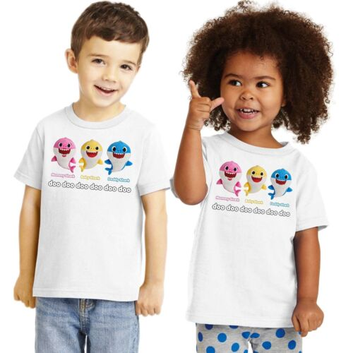 Baby Shark Song T-Shirt Childrens Toddler Mommy Daddy Baby Family Sing Along