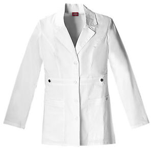 43167ed19ad Dickies Scrubs Women's 82408 Gen Flex Junior Fit Contrast Stitch Lab ...