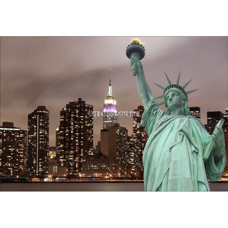 Stickers muraux muraux Stickers géant déco : Statue de la liberté 1515 cc5fd2