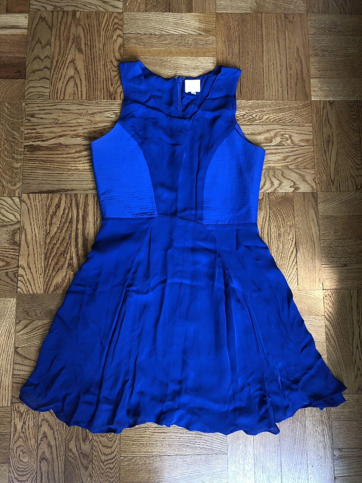 Parker- Royal bluee bluee bluee Dress- Size S 69f7e4