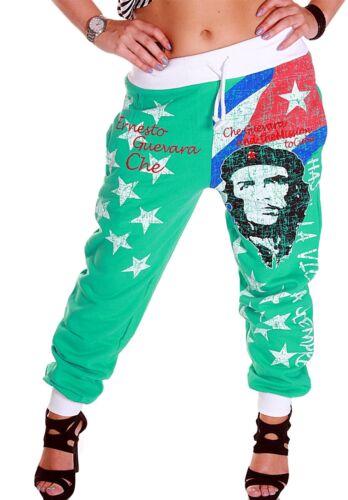 Damen Jogginghose Sporthose Freedom Freiheit che guevara Hose Cuba Kuba EM WM