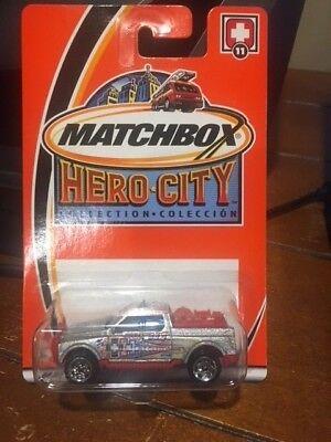 2003 MATCHBOX Hero City To The Rescue Emergency Response 4X4 #11