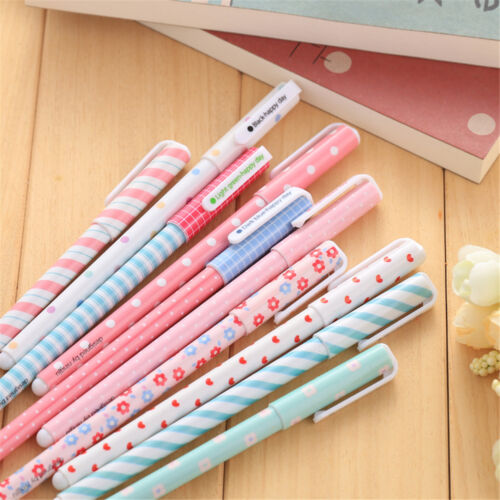 10 Multicolor Kawaii bunten Gel Pen Set süße koreanische Briefpapier Stifte