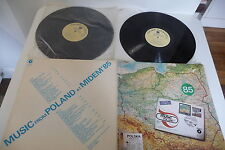 POLAND AT MIDEM'85 2LP EWA BEM / NOVI SINGERS/ ALEX BAND/ TOMASZ STANKO...