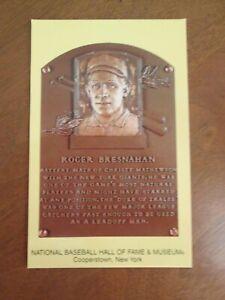 Baseball Hall of Fame Induction Plaque Spanish version Postcard Pedro Martinez